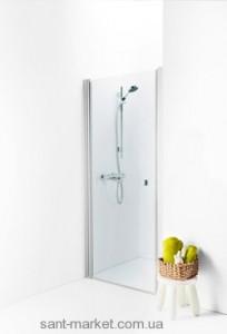 Душевая дверь в нишу IDO Showerama 8-0 стеклянная распашная 75х195 4980032075