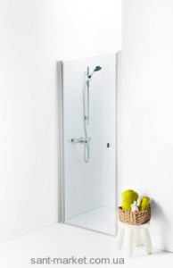 Душевая дверь в нишу IDO Showerama 8-0 стеклянная распашная 80х195 4980036080