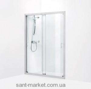 Душевая дверь в нишу IDO Showerama 7-1 стеклянная раздвижная 125х195 4971033125