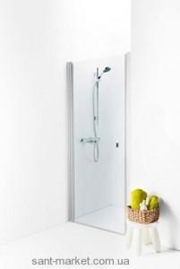 Душевая дверь в нишу IDO Showerama 8-0 стеклянная распашная 90х195 4980036090