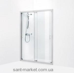 Душевая дверь в нишу IDO Showerama 7-1 стеклянная раздвижная 165х195 4971033165