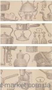 Vives плитка SAMBURU SUKU-4 CREMA декор4 129816