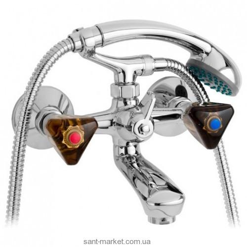 Смеситель двухвентильный для ванны с душем Mofem коллекция Stella хром 141-0055-14