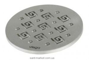 Viega Решетка для трапа, 145х5, Visign RS11, нерж сталь, матовая 586669