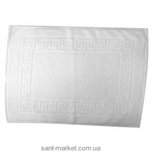 BISK Гладкий коврик для ванны белый 00298