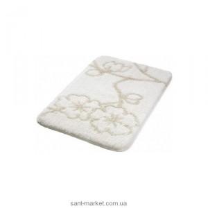 BISK Черри коврик для ванны белый 02797