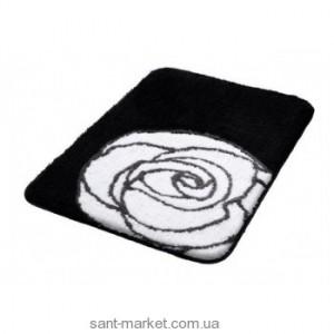 BISK РОЗА коврик для ванны черно-белый 02818