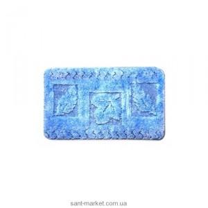 BISK Спринг коврик для ванны голубой 00896
