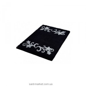 BISK Вилла коврик для ванны чорный 02823