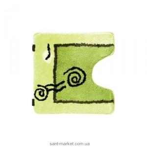 BISK Порто коврик для унитаза салатовый 00729