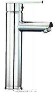 Смеситель для раковины однорычажный высокий Rubineta коллекция Ultra хром UD0008
