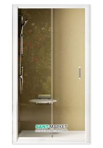 Душевая дверь в нишу Ravak Rapier NRDP2 стеклянная раздвижная 110х190 0NND0U0LZ1