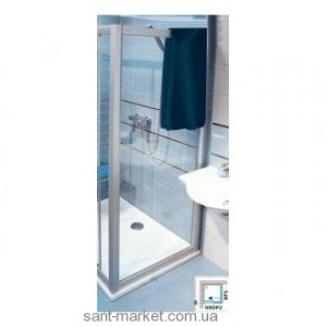 Ravak Стенка д/душ. двери RPS-80 Транспарент, профиль белый, стекло 9RV40100Z1