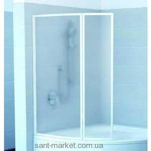Ravak Штора д/ванны VSK 2 ГЕНТИАНА/НЬЮ ДЕЙ 150 R Рейн, пласт. 7CPP010041
