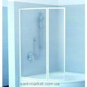 Ravak Штора д/ванны VSK 2 ГЕНТИАНА/НЬЮ ДЕЙ 140 R Рейн, пласт. 7CPM010041