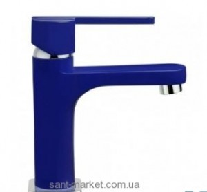 Смеситель для раковины однорычажный Teka коллекция Aura синий 50.342.02.1Z
