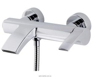 Смеситель однорычажный для ванны с коротким изливом Teka коллекция Vita хром 24.101.02.00