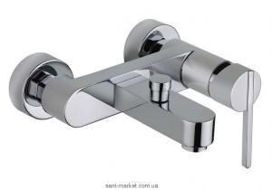 Смеситель однорычажный для ванны с коротким изливом Teka коллекция Аura хром 50.121.02.00