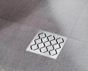 Ravak Сливной дренаж 105*105/50, крышка - нерж. сталь ( SN501) X01435