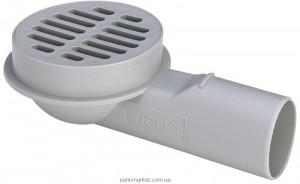Сливной трап для балконов Viega Advantix боковой выпуск 100х100 125936
