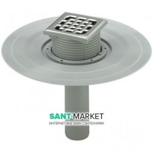 Трап для балконов и террас Viega Advantix мокрый затвор вертикальный выпуск 100х100 626983