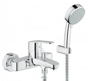 Смеситель однорычажный для ванны с душем Grohe коллекция Eurostyle Cosmopolitan хром 33592002
