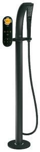 Смеситель электронный напольный (отдельностоящий) Grohe коллекция Ondus черный 36048KS0