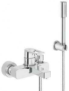 Смеситель однорычажный для ванны с душем Grohe коллекция Quadra хром 32639000