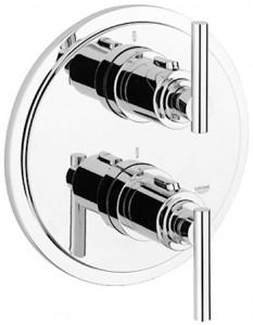 Смеситель с термостатом скрытый (встраиваемый) Grohe коллекция Atrio хром 19398000