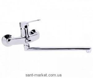 Смеситель однорычажный для ванны с длинным изливом Imprese коллекция Witow хром 35080