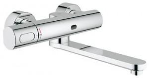 Смеситель для раковины электронный с термостатом Grohe Eurosmart Cosmopolitan E хром 36332000