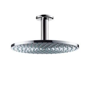Верхний душ с тропическим душем Hansgrohe коллекция Raindance AIR EcoSmart хром 27477000