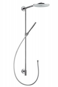 Hansgrohe Raindance Raindance Connect 240 Showerpipe, держатель 460 мм, ½' 27164000