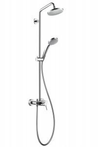 Hansgrohe Croma 100 Croma 100 Showerpipe, с однорычажным cмесителем, ½' 27154000
