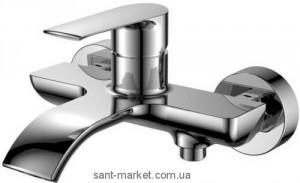 Смеситель однорычажный для ванны с коротким изливом Imprese коллекция Vyskov хром 10340