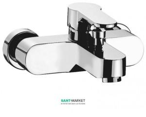 Смеситель однорычажный для ванны с коротким изливом Imprese коллекция Milovice хром 10300