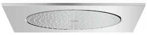 Верхний душ встраиваемый в потолок с подсветко Grohe коллекция Rainshower F-Series хром 27286000
