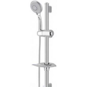 Душевой гарнитур со штангой Imprese коллекция Jizera с мыльницей хром 6612004