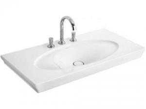 Раковина для ванной подвесная умывальник-столешница Villeroy & Boch коллекция La Belle белая 6124G1R1
