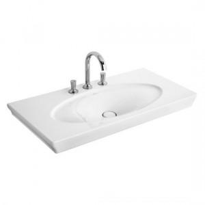Раковина для ванной подвесная умывальник-столешница Villeroy & Boch коллекция La Belle белая 6124A1R2