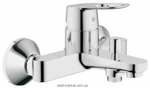 Смеситель однорычажный для ванны с коротким изливом Grohe коллекция BauLoop хром 32815000