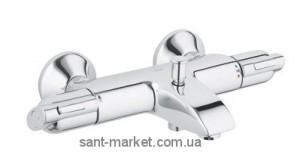 Смеситель с термостатом двухвентильный для ванны Grohe коллекция Precision хром 34227000