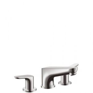 Смеситель двухвентильный на борт ванны Hansgrohe коллекция Focus хром 31935000