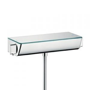 Смеситель для душа настенный двухвентильный с термостатом Hansgrohe Ecostat Select хром 13161400