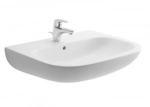 Раковина для ванной подвесная Duravit D-Code 65х50х18 белая 23106500002