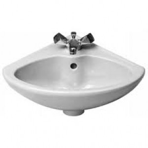 Раковина для ванной подвесная угловая Duravit Triberg 44х38х17.5 белая 0794440011