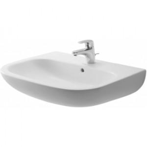 Раковина для ванной подвесная Duravit коллекция D-Code белая 231065000002
