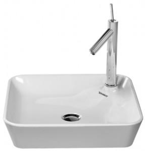 Раковина для ванной накладная Duravit коллекция Starck 1 белая 2322460000