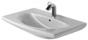Раковина для ванной подвесная Duravit коллекция Caro белая 0434700000