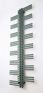 Электрический полотенцесушитель скрытый (BOX) Zehnder Yucca Plus 600х1340х40 дизайнерский хром YSE 60-130